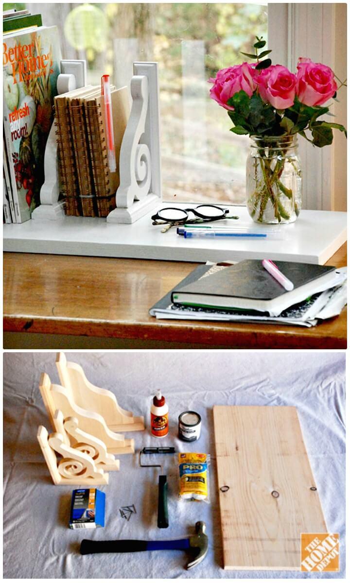 How To Make Desk Organizer - DIY Gift Idea