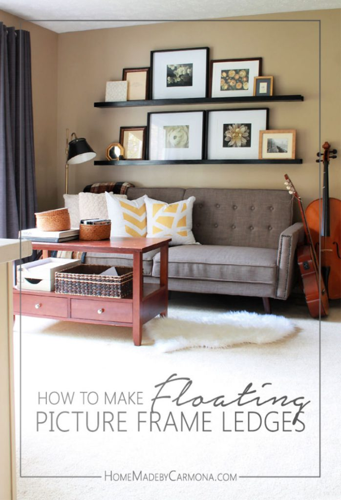 How to Build Picture Frame Ledge