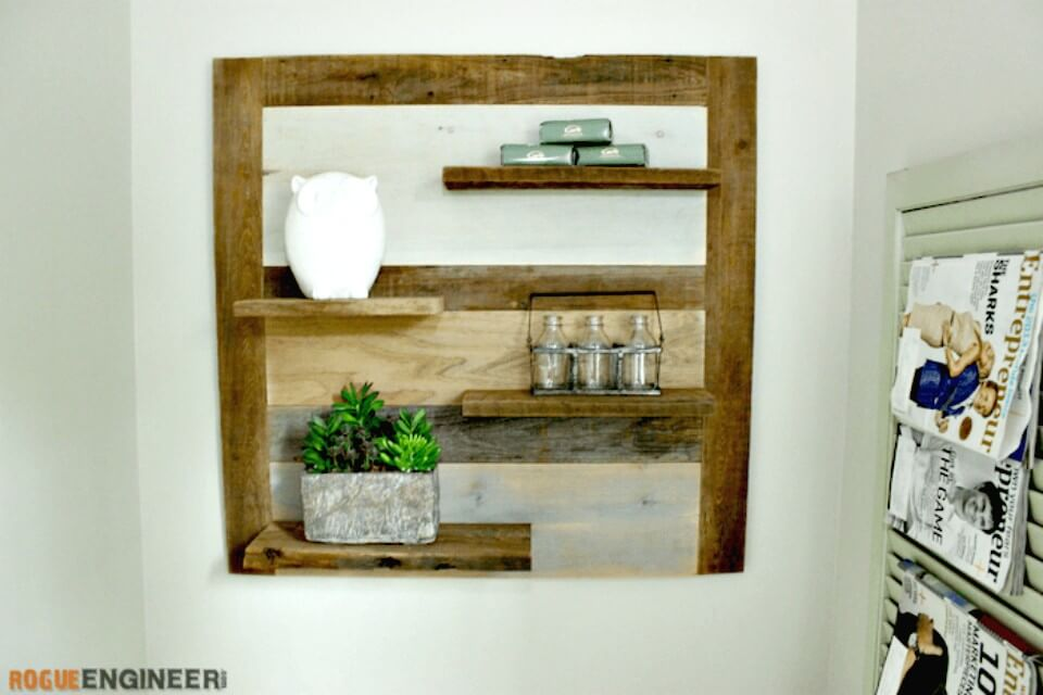 How to Build a Scrap Wood Shelf - DIY