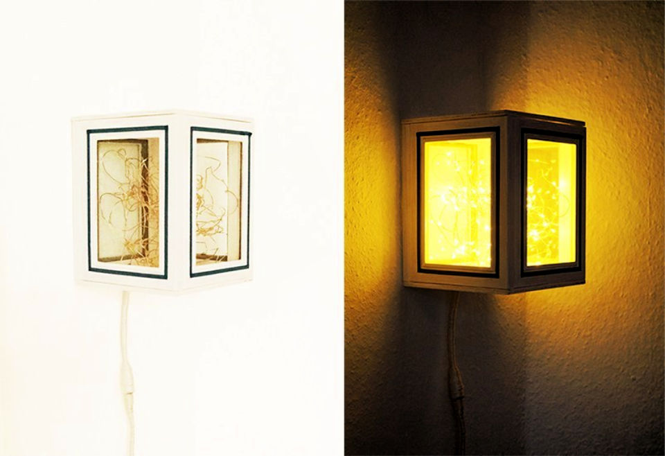 How to Make Picture Frames Lamp