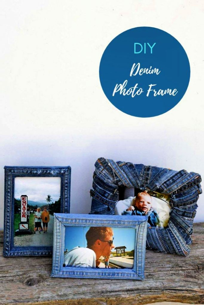 How to Make a Denim Photo Frame
