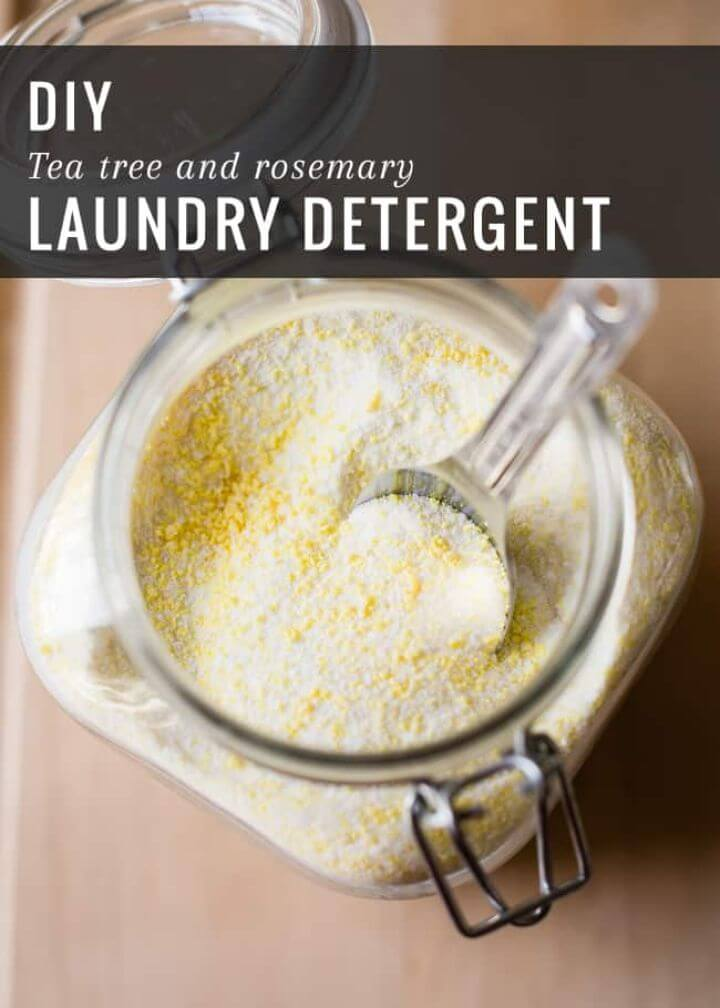 Laundry Detergent With Tea Tree Rosemary
