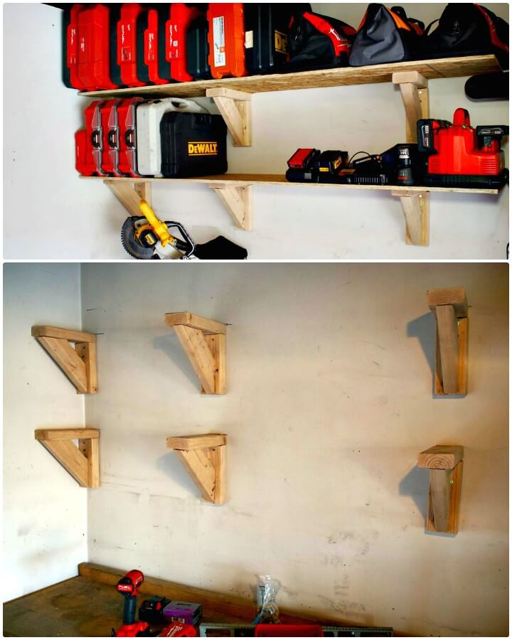 Make Garage Storage Shelves on the Cheap - DIY