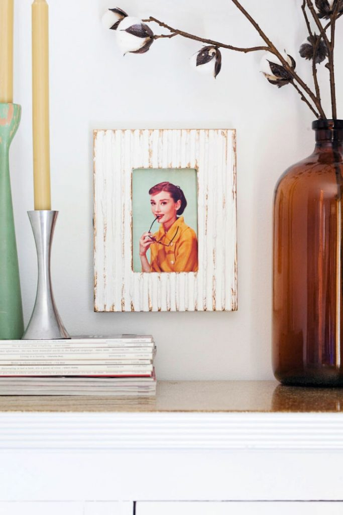 Make a Textured Picture Frame