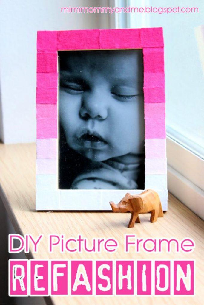 Picture Frame Refashion Tutorial