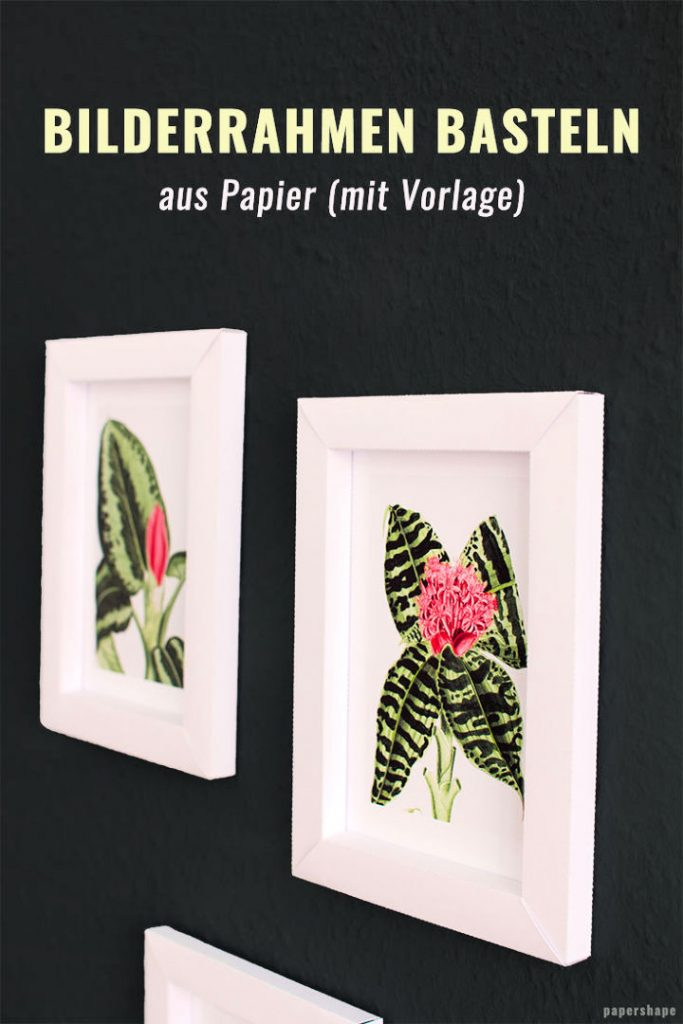 Picture Frames Made Of Paper