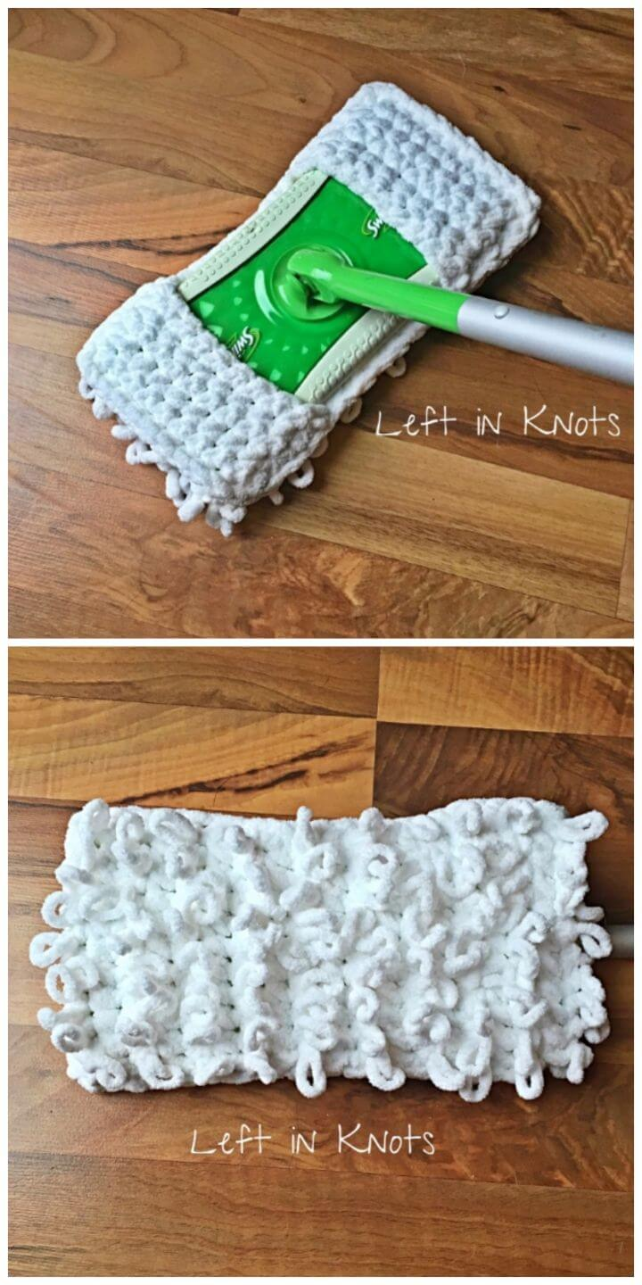Quick and Thick Sweeper Cover Free Crochet Pattern