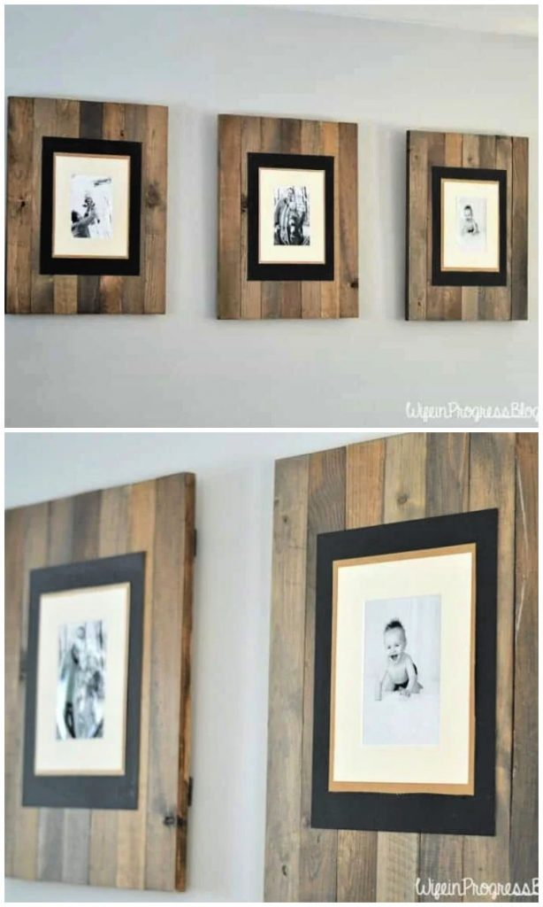 Rustic DIY Picture Frame