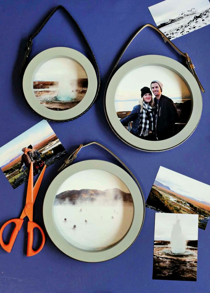 Simple Stylish Circle Picture Frames