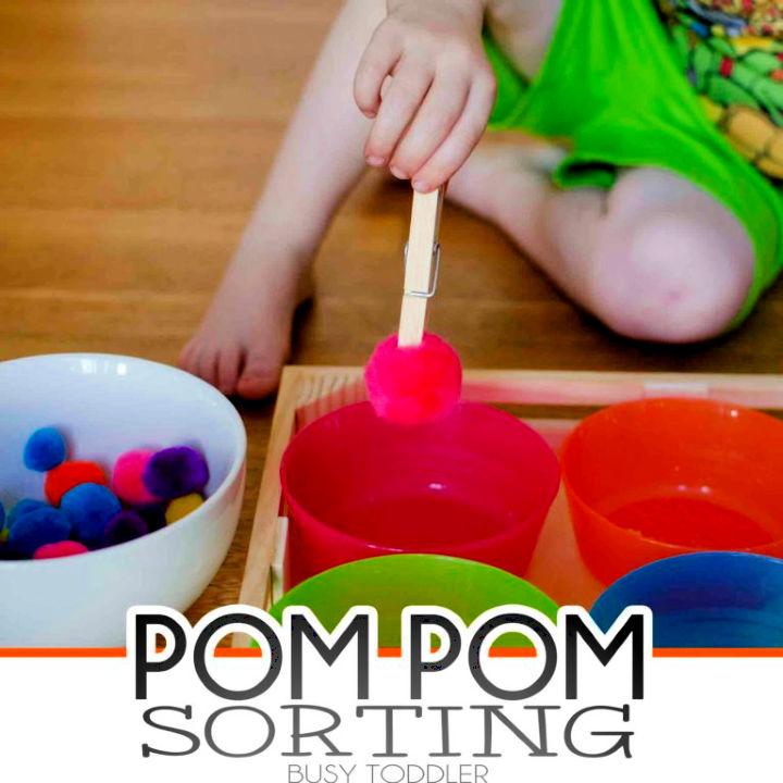 Versatile DIY Pom Pom Balls Toddler Activity