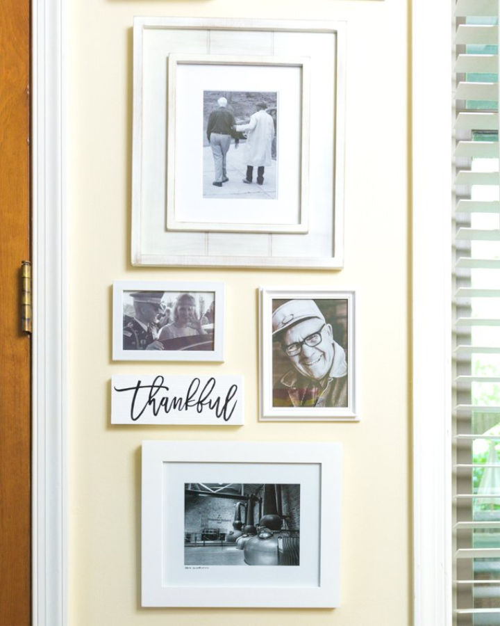 Wooden Wall Art with Cricut Iron On