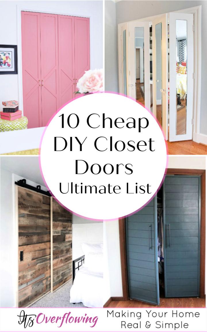 10 DIY Closet Doors That Can Make A Big Impact