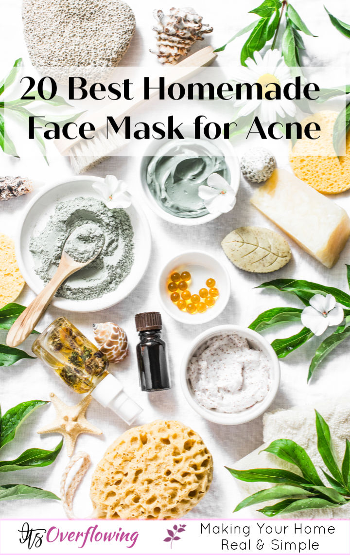 20 Best DIY Homemade Face Mask for Acne Using Natural Ingredients