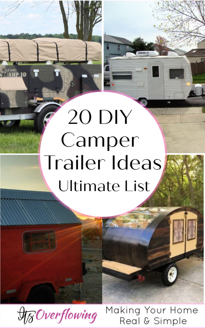 20 DIY Camper Trailer Ideas To Build Your Own Camper under Low Budget