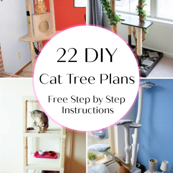 22 DIY Cat Tree Plans To Build For Your Feline Friend