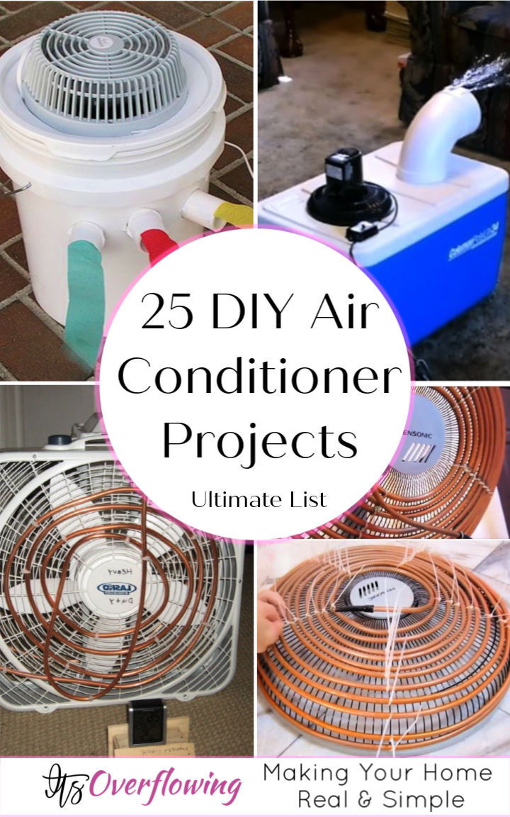 25 DIY Air Conditioner Projects You Can Make This Summer