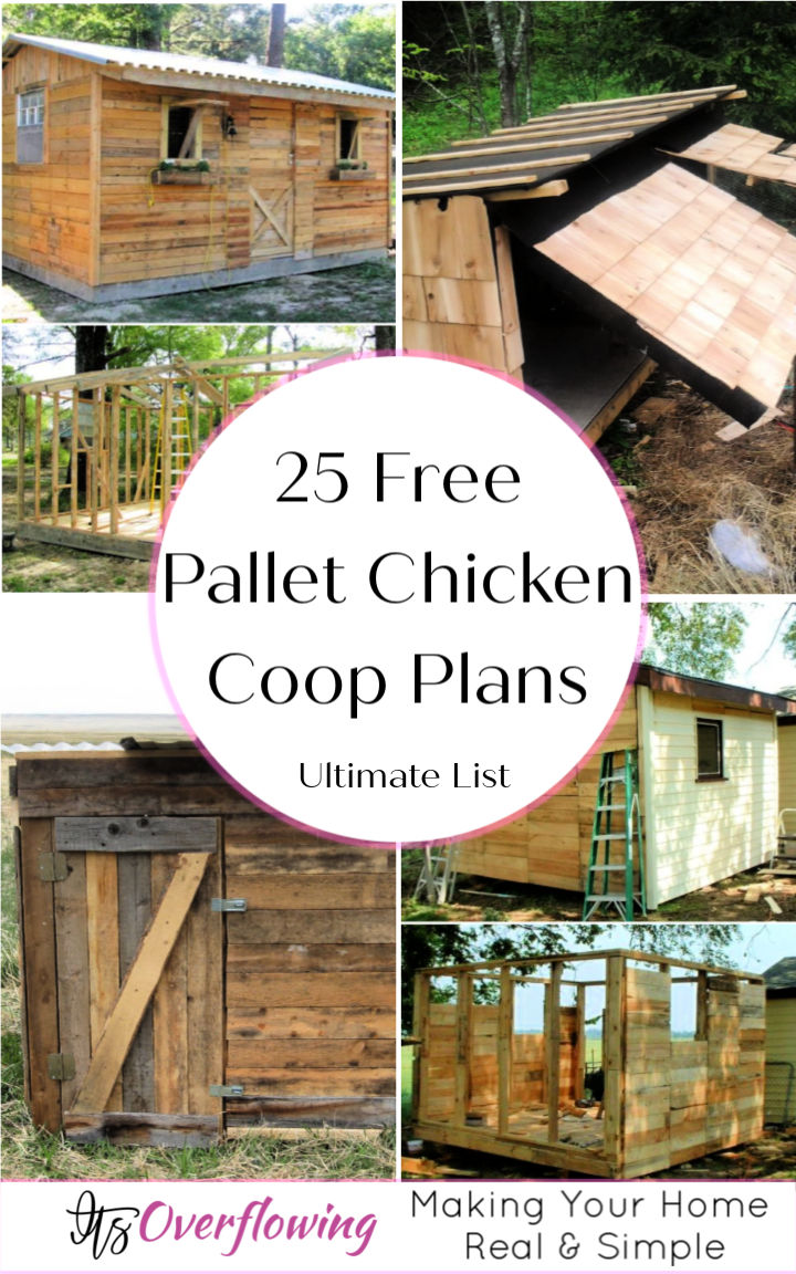 25 Pallet Chicken Coop Plans To Save Your Money