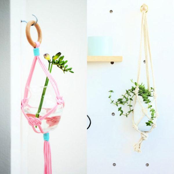 30 Best DIY Macrame Plant Hanger Tutorials