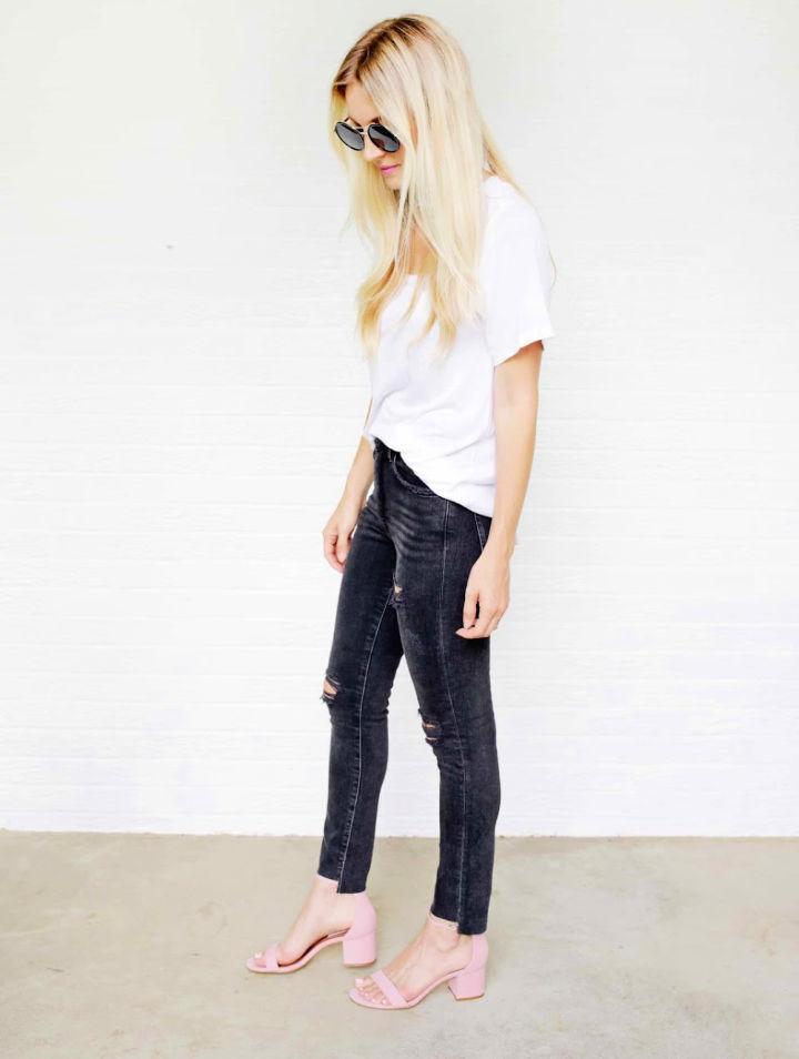 5 Ways To DIY The Biggest Jean Trends