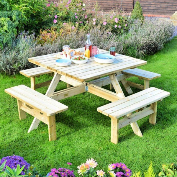 50 free picnic table plans