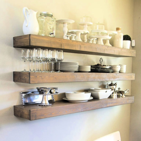 85 Ideas To Build Your Own DIY Floating Shelves