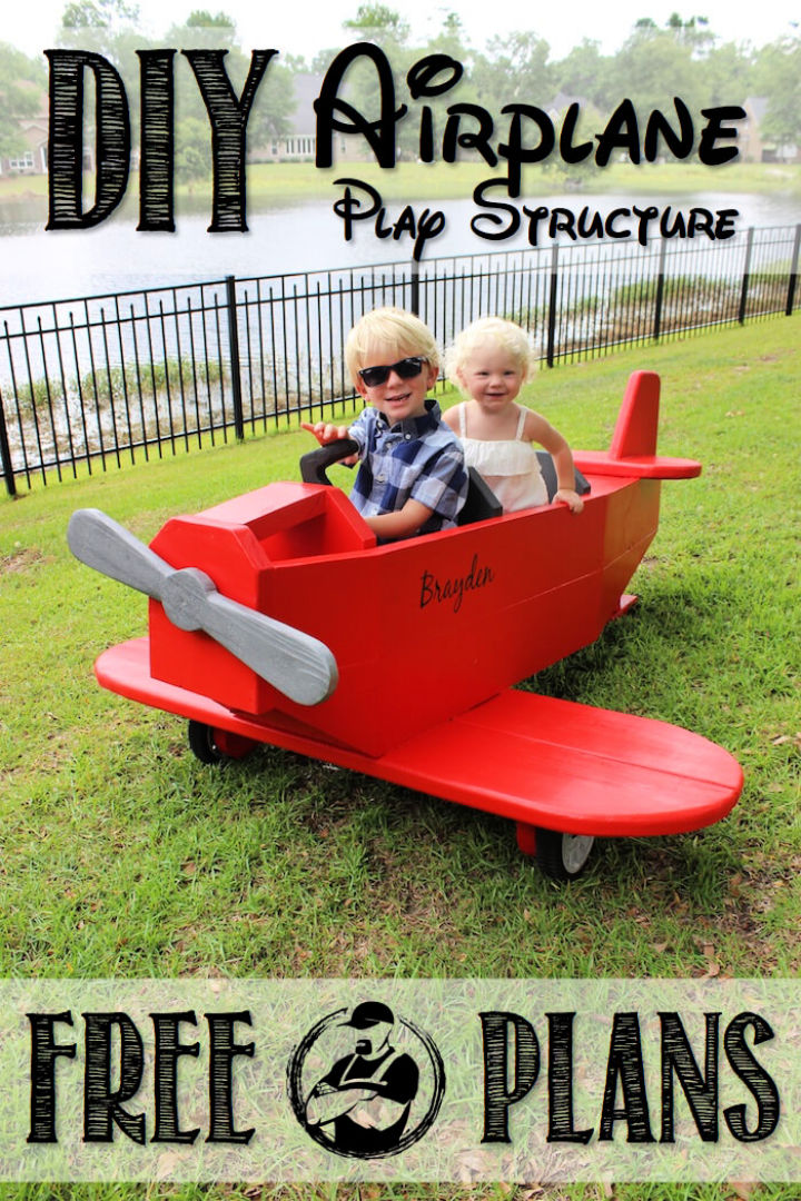 Airplane Play Structure to Build and Sell