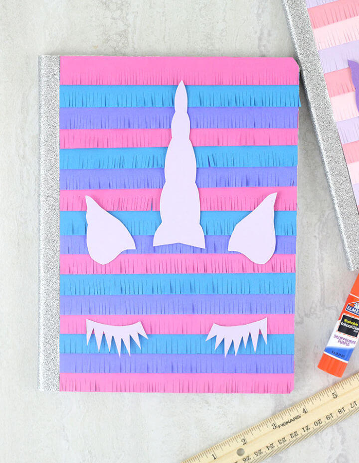 Beautiful DIY Unicorn Notebooks