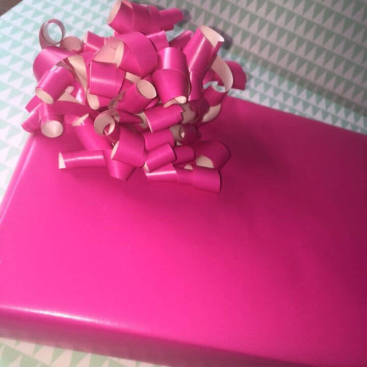 Bow Out of Leftover Wrapping Paper