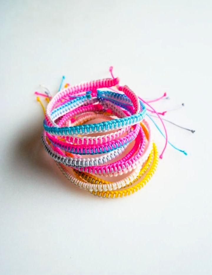 Breezy Friendship Bracelets Pattern