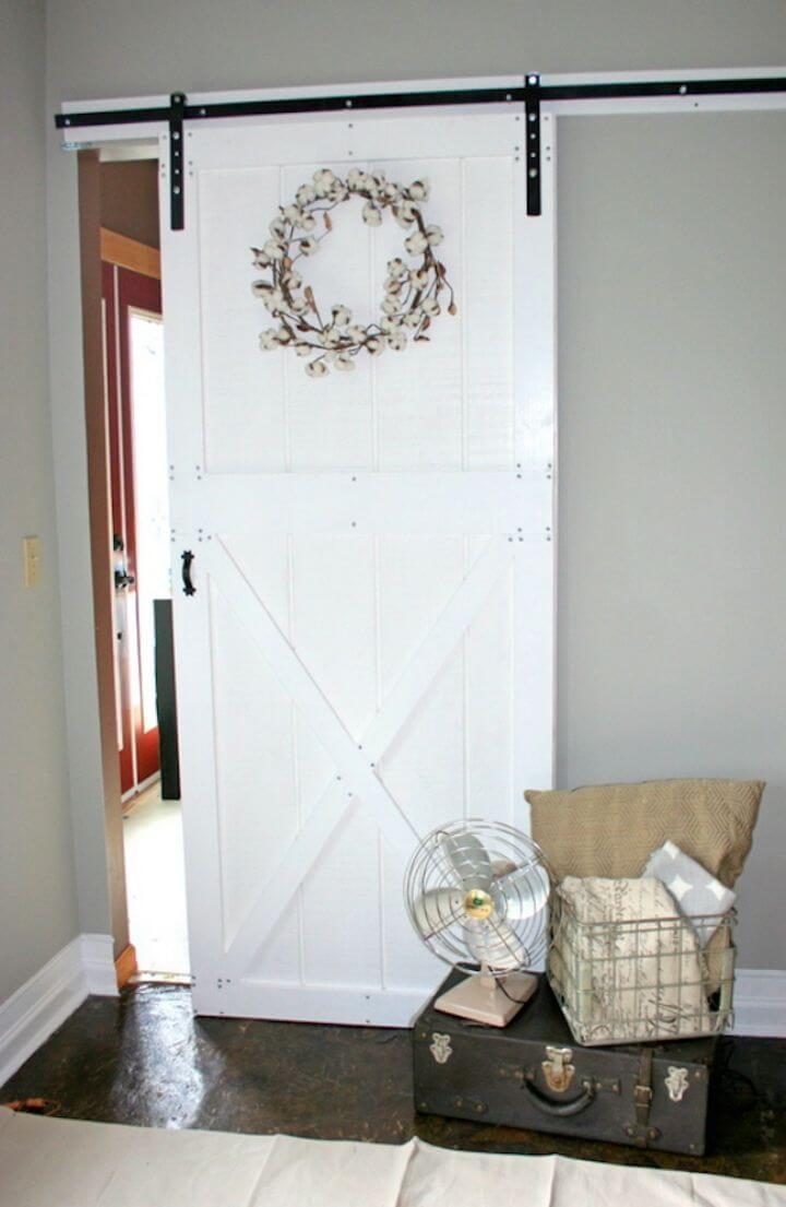 Build Barn Door and Hardware for Around 80