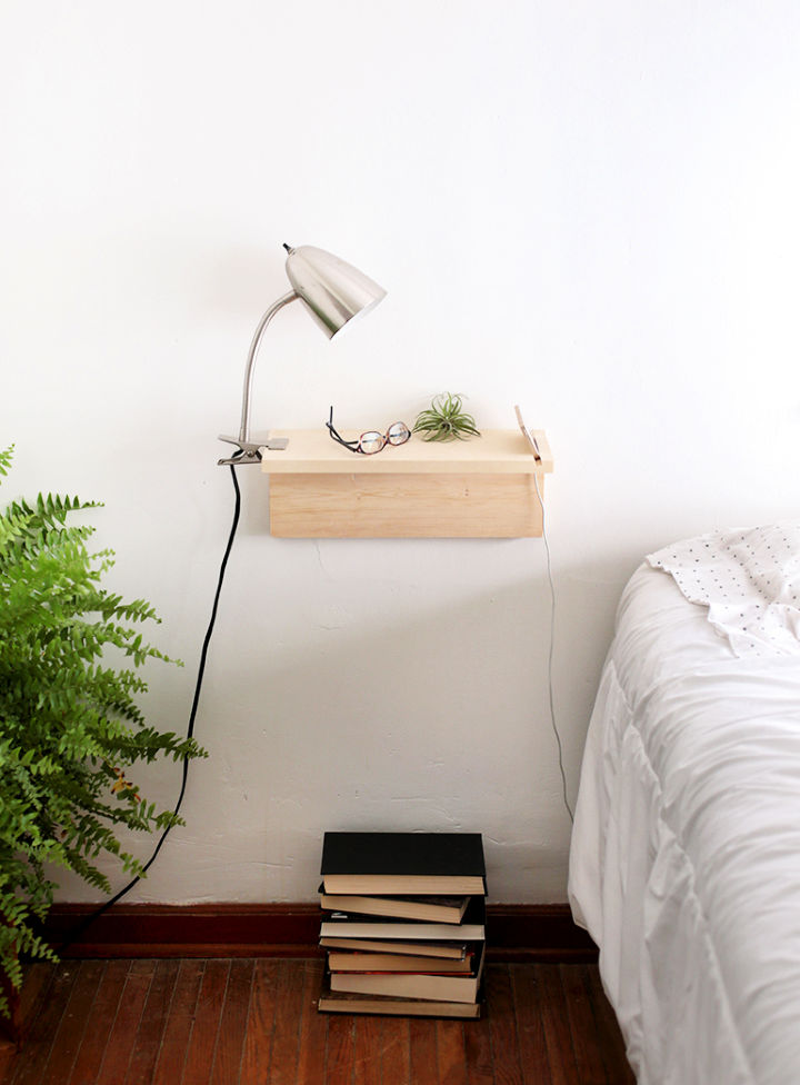 Build Floating Nightstand to Sell