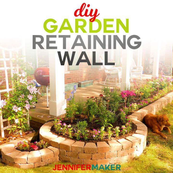 Build Retaining Wall Construction for a Beautiful Garden