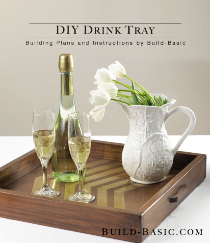 Build Wooden Drink Tray to Sell