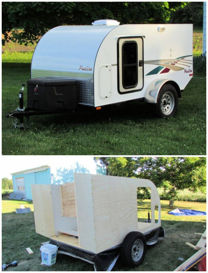 Build Your Own Micro Camping Trailer