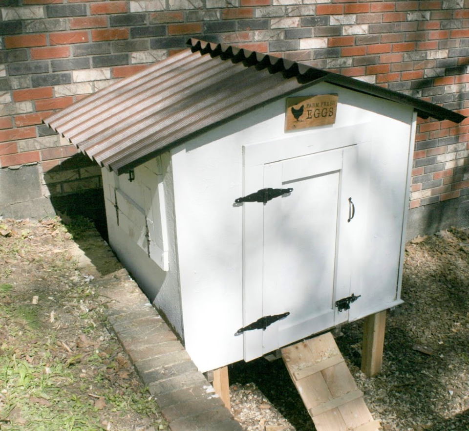 Build a Chicken Coop from Pallets