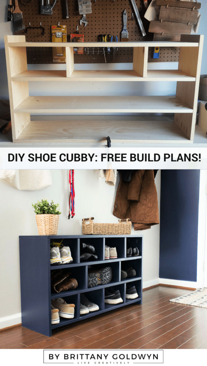Build a Shoe Cubby to Sell