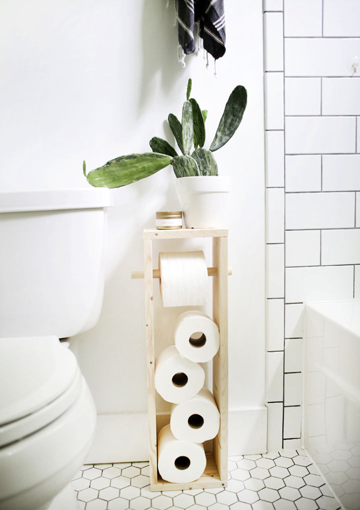 Build a Toilet Paper Stand to Sell