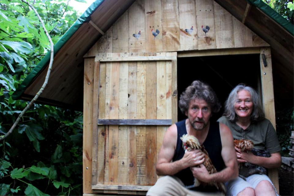 Building a Pallet Wood Chicken Coop