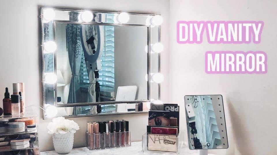 Cheap and Easy DIY Vanity Mirror