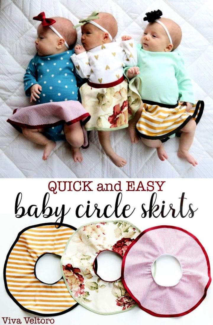 Circle Skirt Pattern for Babies