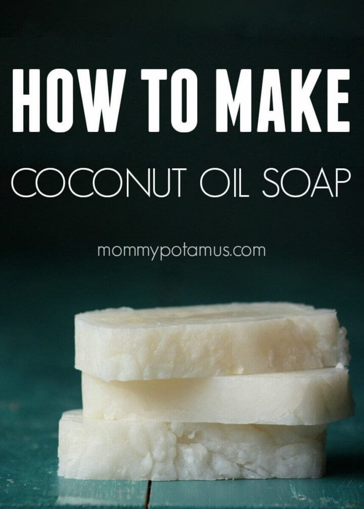 Coconut Oil Soap for Cleansing and Laundry