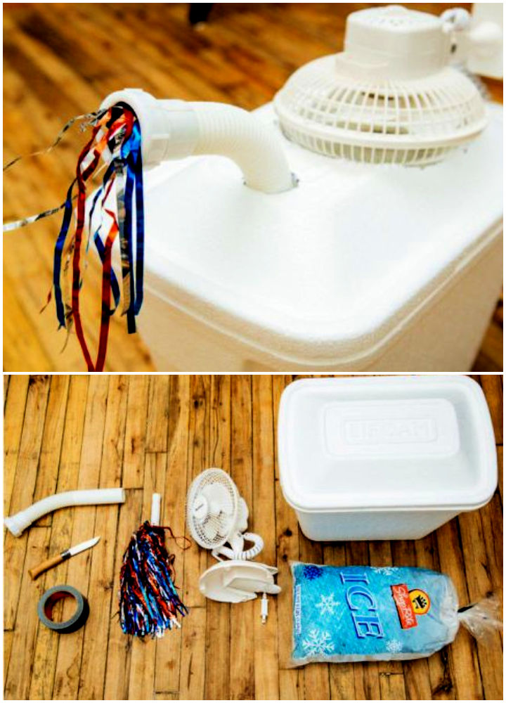 DIY Air Conditioner For Less Than 20