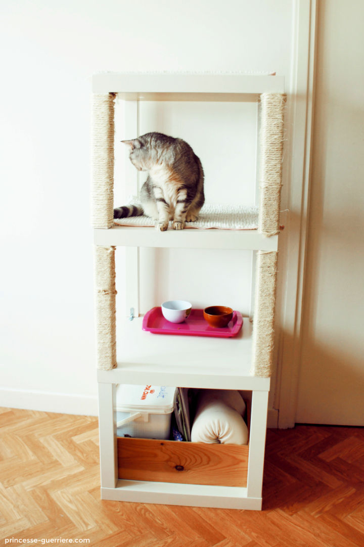 DIY An IKEA Cat Tree