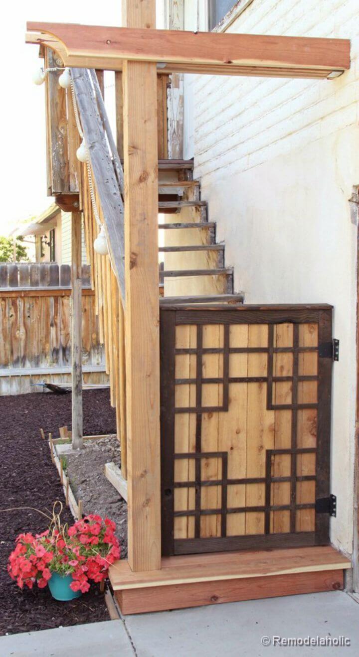 DIY Barn Door Baby Gate
