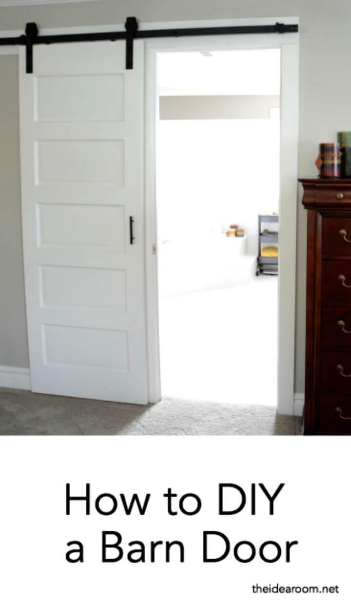 DIY Barn Door Reveal