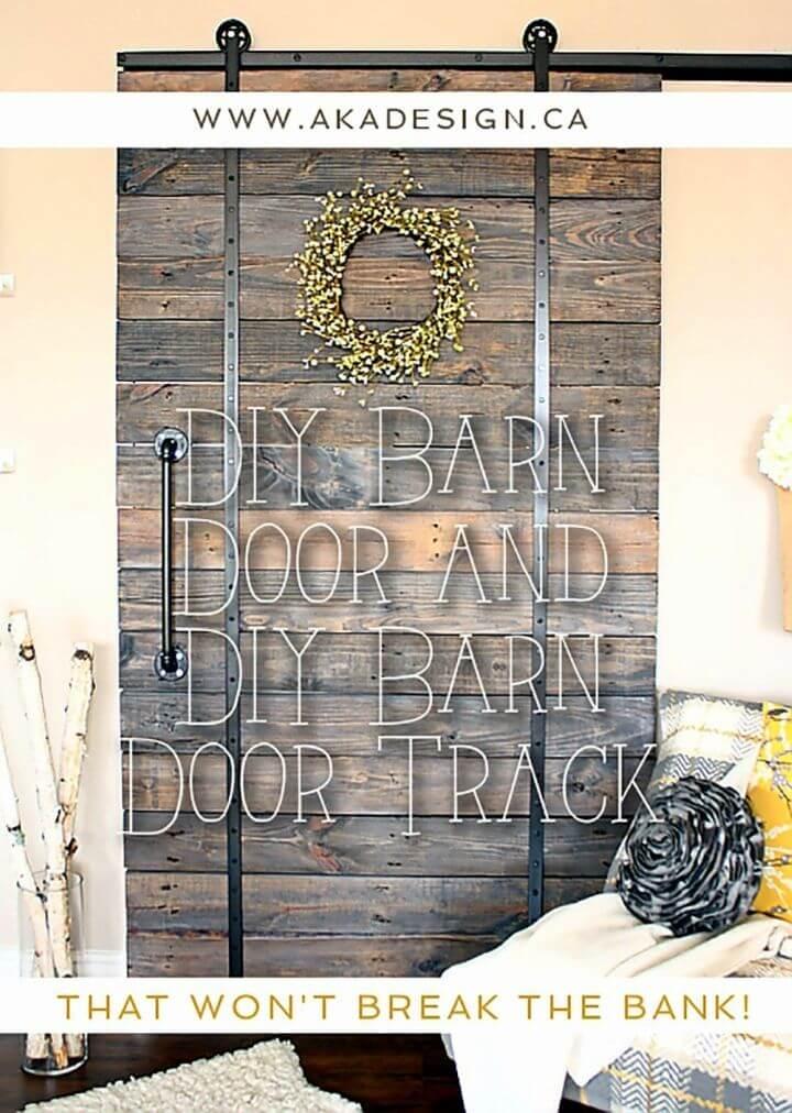 DIY Barn Door Track Tutorial