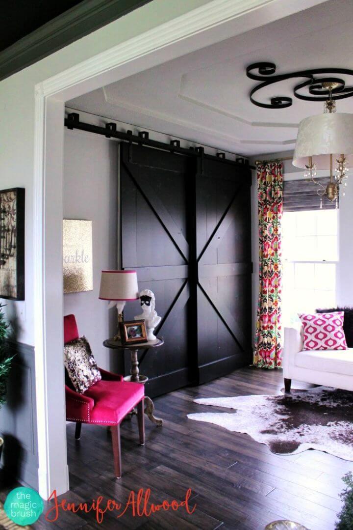 DIY Black Bypass Barndoors Tutorial