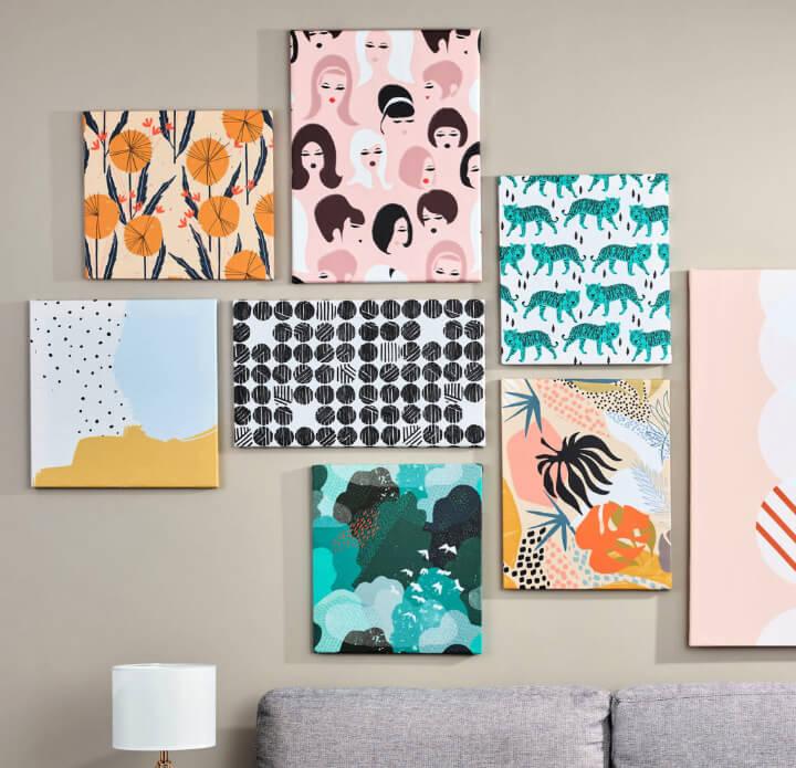 DIY Budget Friendly Gallery Wall