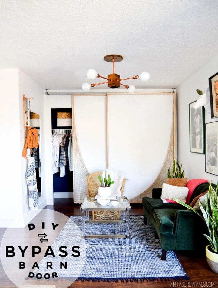 DIY Bypass Barn Doors