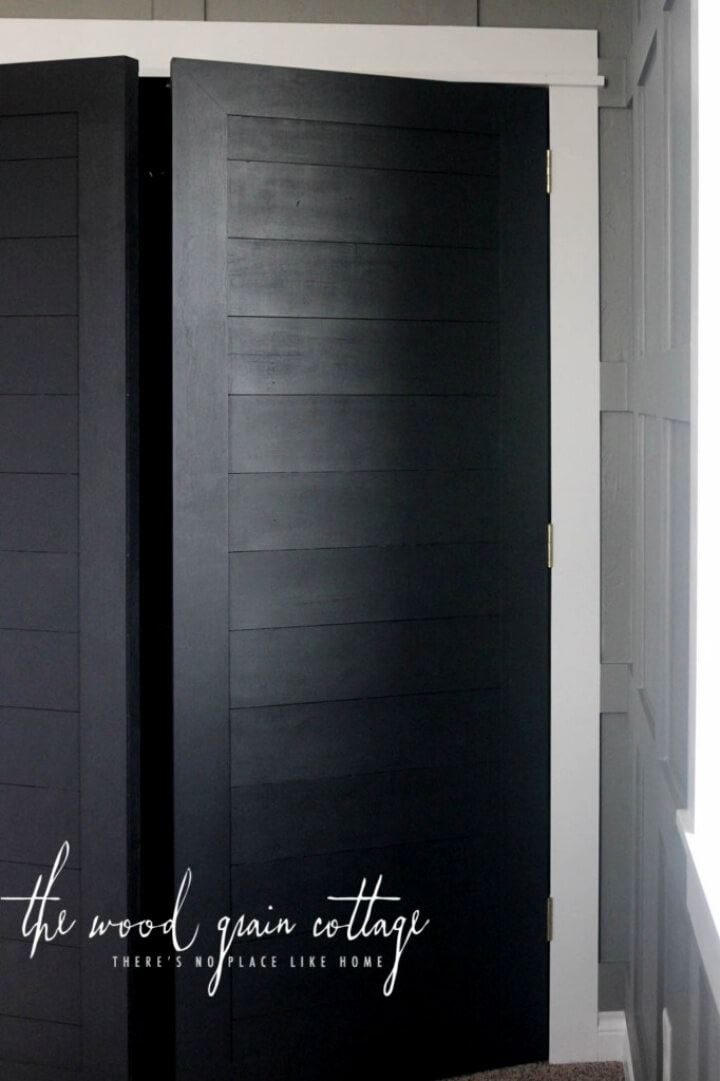 DIY Closet Door for Our Home Office